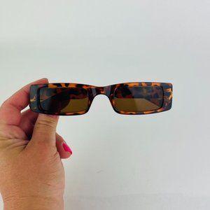 COPY - awesome slim rectangle slim cheetah sungla…
